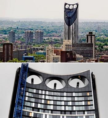 Strata: самый высокий жилой дом в Лондоне