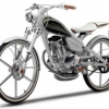 Невероятно экономный концепт мотоцикла Yamaha Y125 Moegi