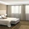 Современные шторы в спальню: выбор велик