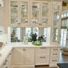 Шкафы со стеклянными дверцами: 8 способов добавить стекло в кухонные шкафы