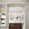 Напольная плитка в ванной комнате – фантазийный дизайн