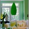 Мятный цвет в интерьере – свежесть в доме
