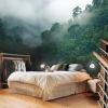 Фотообои в интерьере спальни: оригинальные иллюзии