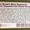Самое дорогое в мире сливочное мороженое с фруктами стоит 60,000 долларов