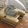 Яхта с подводной лодкой от Trinity