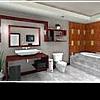 Роскошный дизайн ванной комнаты